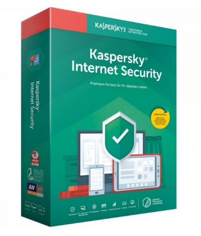 ANTIVIRUS KASPERSKY INTERNET SECURITY 5 DISPOSITIVOS 2020
