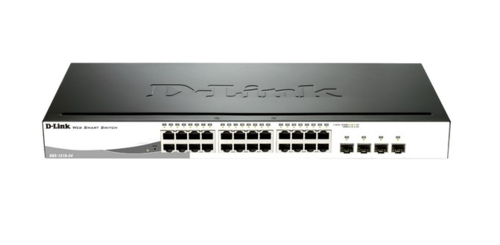 Switch 24 puertos Gigabit Ethernet 10/100/1000Mbps D-LINK DGS-1210-24 GESTIONABLE